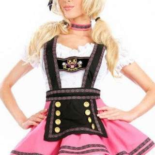 Oktoberfest Costume - Beer Waitress Dress