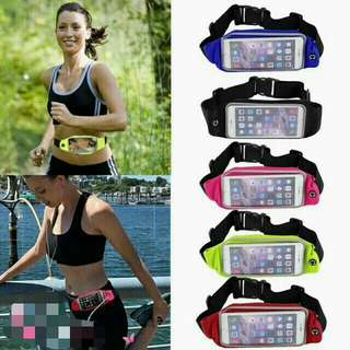 Waterproof Reflective Sports Running Waist Belt Bag
