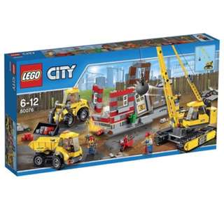Lego City Building demolition site 60076