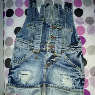 Overall o'net denim