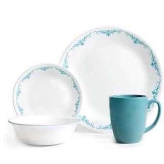 Corelle Garden Lace 16-pc Dinnerware Set