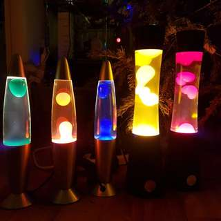 Lava lamps - 2 sizes