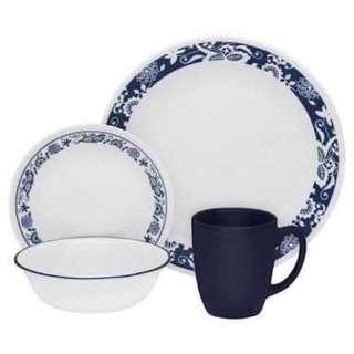 Corelle True Blue  16-pc Dinnerware Set