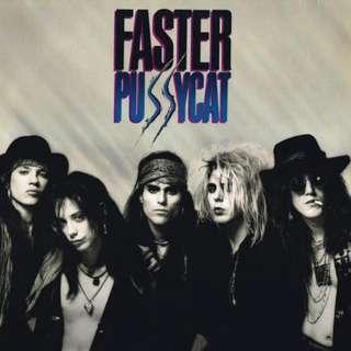 Vg+ Faster pussycat record vinyl rock
