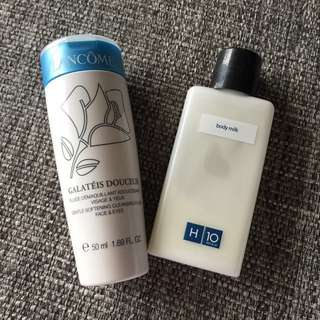 Authentic Lancome Face Cleansing Milk