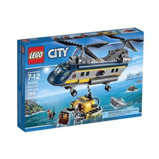 LEGO City Deep Sea Explorers 60093 Helicopte