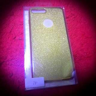 Glittery Iphone7 Plus Jelly Casing