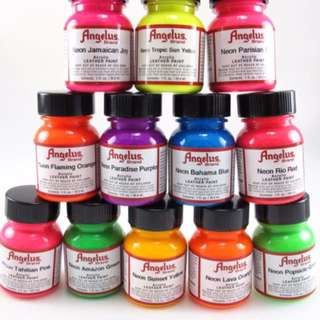Angelus Neon Paint $9 each limited time knly