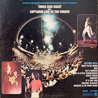Three Dog Night vinyl LP