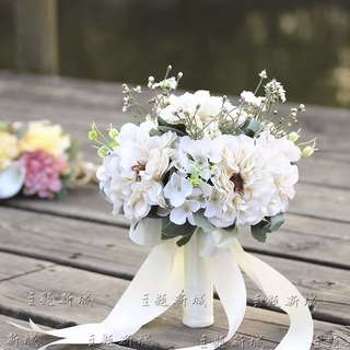 Fake Flowers For Outdoor Photoshoot