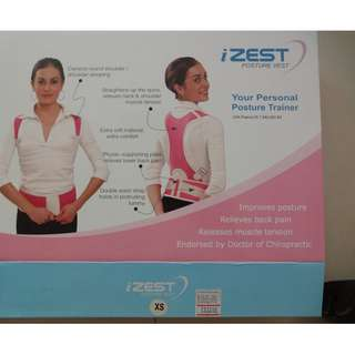 iZest, BeiBeiJia Posture vest excellent condition used twice max-  XS size $60, BeiBeiJia L(like small M) $15