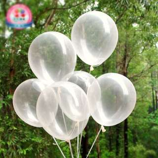 Party Balloons Translucent/ Valentine Day/ birthday