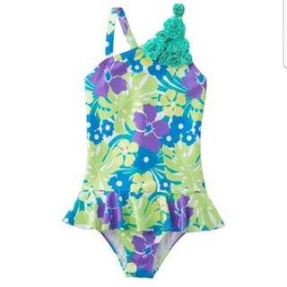 Landsend Girl Swimwear one piece swimsuit