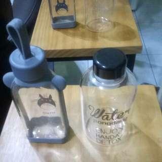 🚚 全新水瓶們出清 有玻璃材質有PP材質