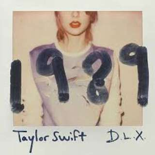 Taylor Swift 1989 Deluxe with polaroids