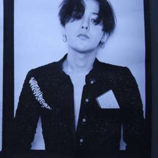 G dragon Chanel poster