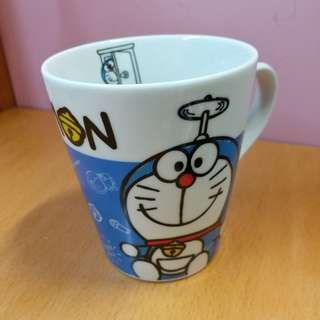 [New] 哆啦A夢 叮噹 Doraemon & Hello Kitty crossover Cup 瓷杯