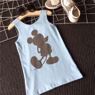 Sleeveless Mickey Dress