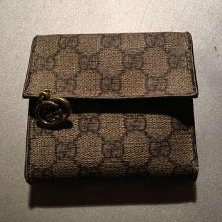 Gucci短銀包