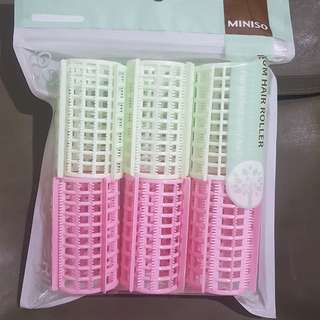 Miniso hair roller (isi 6)