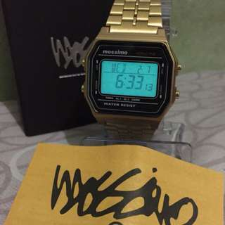 Original Mossimo Stainless Gold Watch
