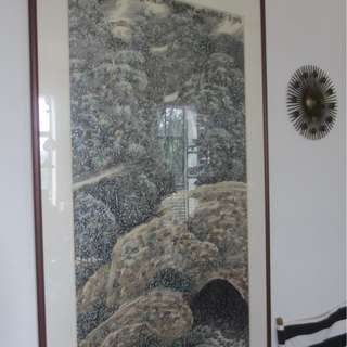 Huge large chinese painting