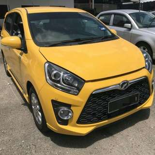 Perodua Axia 1.0 Auto Advance 2014 (Full spec)