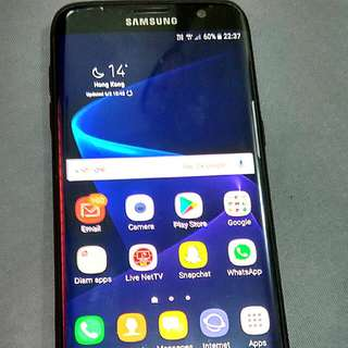 Samsung S7 Edge - 128 GB Storage
