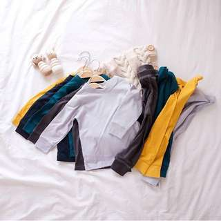 Solid Colours Toddler Pajamas