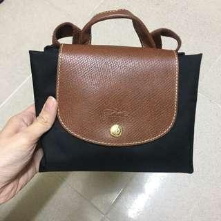 Longchamp Le Pliage Backpack Black 小背囊