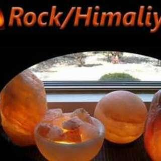 himalayan salt lamps and coocking salt