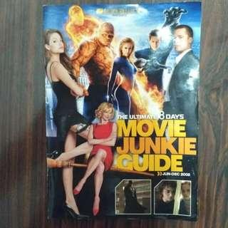 8 Days Movie Junkie. 2005 editon. angelina