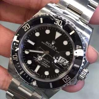 二手Rolex 116610LN 黑水鬼
