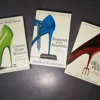 The Devil Wears Prada book set
