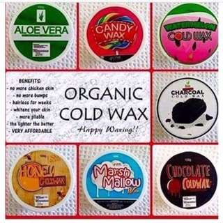 ESME ORGANIC COLD WAX very effective wax to your dark underarm and hair legs