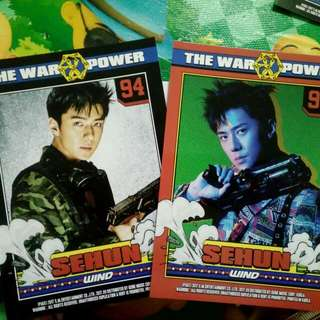 EXO SEHUN CARD (POWER)