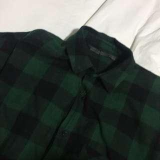 Zara Trafaluc Flannel Shirt