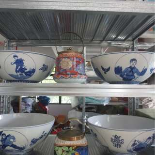 Rare cultural revolution bowls