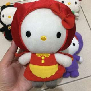 Hello Kitty x Red Riding Hood