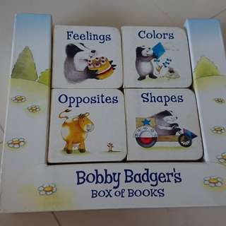 (Give Away) Bobby Badger's Box of Books