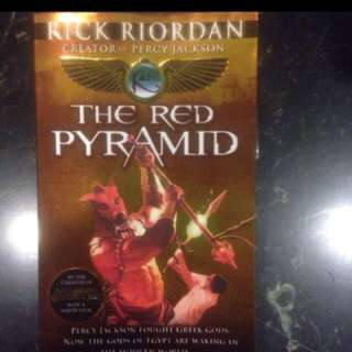 Special Offer! The Red Pyramid by Rick Riordan (creator of Percy Jackson)