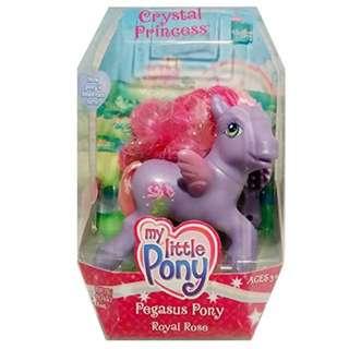 Hasbro My Little Pony G3: Royal Rose - Crystal Princess Pegasus Pony Figure