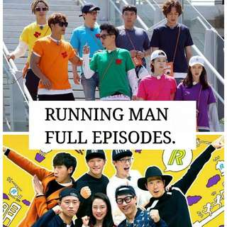 RUNNING MAN FULL EPISODES