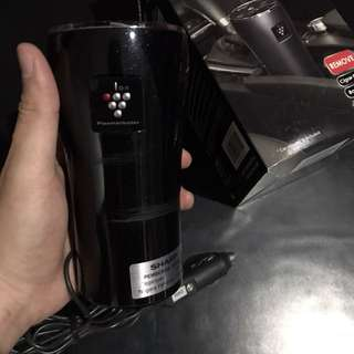 Air purifier sharp for car black udara mobil segar