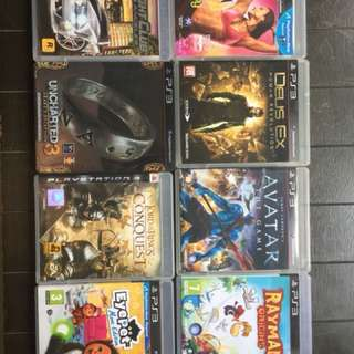 Assorted PS3 games