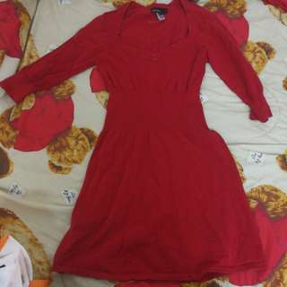 MNG Red dress