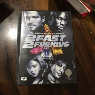 Movie dvd 2fast 2 furious