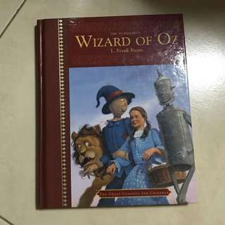 Wizard of Oz story book - hard cover