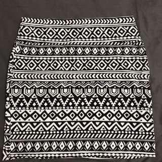Cotton On Skirt (Aztec)