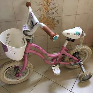 FREE Kids Bicycle with learning wheels